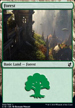 Commander 2019: Forest (302 C)