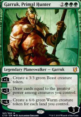 Commander 2019: Garruk, Primal Hunter