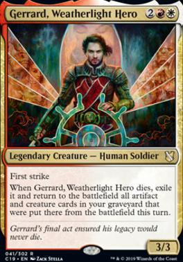 Commander 2019: Gerrard, Weatherlight Hero