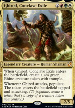Commander 2019: Ghired, Conclave Exile (Foil)