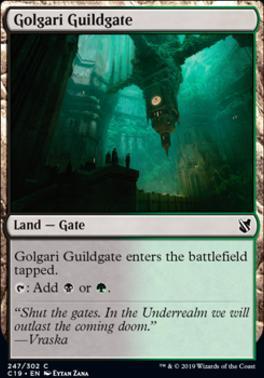 Commander 2019: Golgari Guildgate