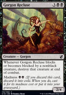 Commander 2019: Gorgon Recluse