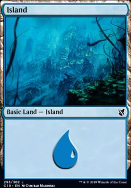 Commander 2019: Island (293 C)