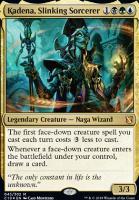 Commander 2019: Kadena, Slinking Sorcerer (Foil)
