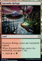 Commander 2019: Kazandu Refuge