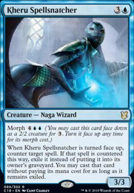 Commander 2019: Kheru Spellsnatcher