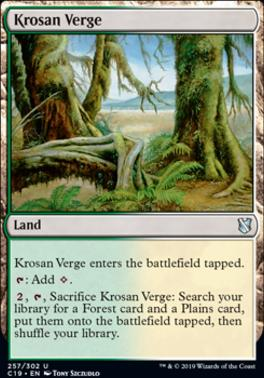 Commander 2019: Krosan Verge