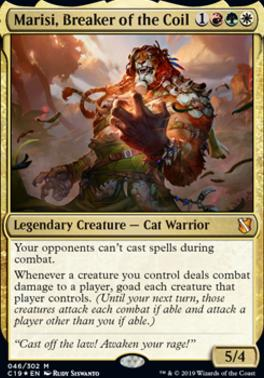 Commander 2019: Marisi, Breaker of the Coil (Foil)