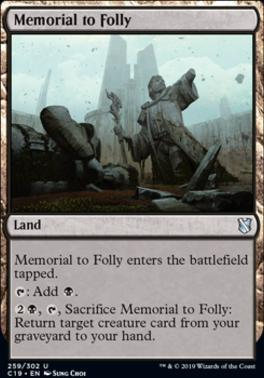 Commander 2019: Memorial to Folly