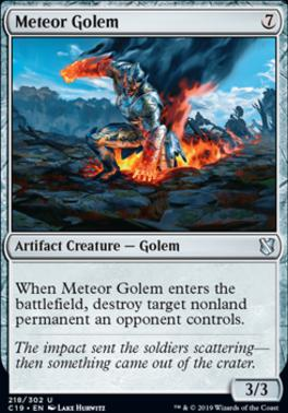 Commander 2019: Meteor Golem