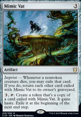 Commander 2019: Mimic Vat