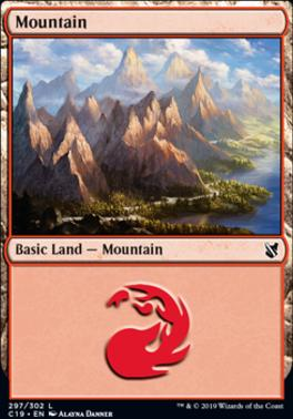 Commander 2019: Mountain (297 A)