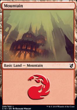 Commander 2019: Mountain (299 C)