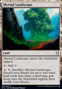 Commander 2019: Myriad Landscape