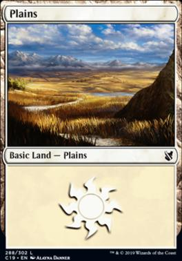 Commander 2019: Plains (288 A)