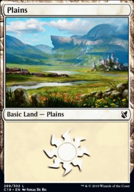 Commander 2019: Plains (289 B)