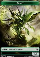 Commander 2019: Plant Token - Morph Token