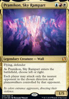 Commander 2019: Pramikon, Sky Rampart (Foil)