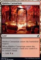 Commander 2019: Rakdos Carnarium