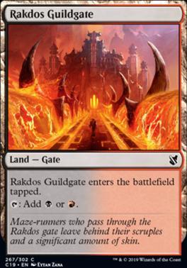 Commander 2019: Rakdos Guildgate