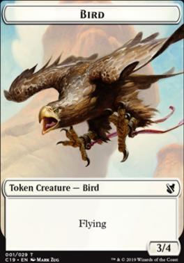 Commander 2019: Sculpture Token - Bird Token (Zug)