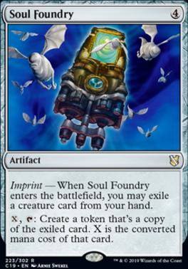 Commander 2019: Soul Foundry