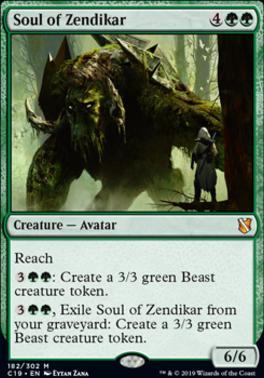 Commander 2019: Soul of Zendikar