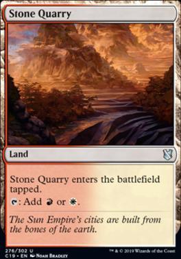 Commander 2019: Stone Quarry