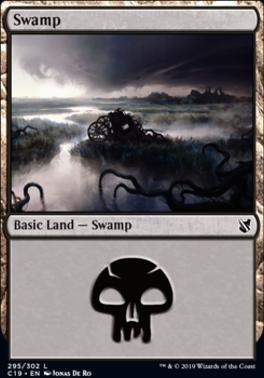 Commander 2019: Swamp (295 B)