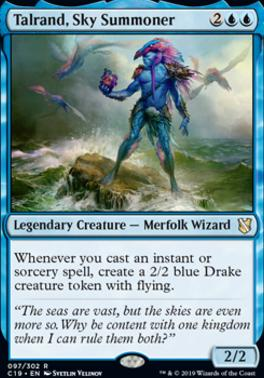 Commander 2019: Talrand, Sky Summoner