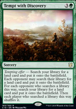Commander 2019: Tempt with Discovery