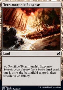 Commander 2019: Terramorphic Expanse