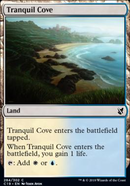 Commander 2019: Tranquil Cove