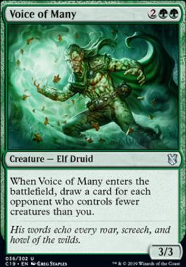 Commander 2019: Voice of Many