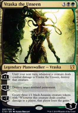 Commander 2019: Vraska the Unseen
