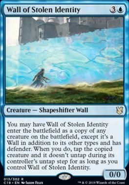 Commander 2019: Wall of Stolen Identity