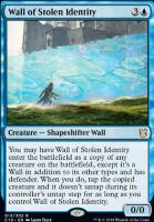 Commander 2019: Wall of Stolen Identity