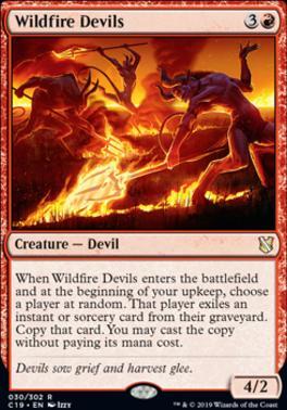 Commander 2019: Wildfire Devils