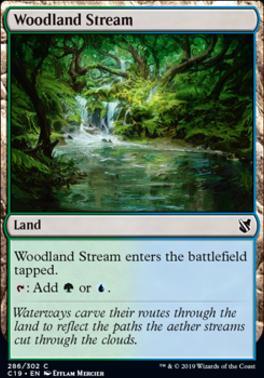 Commander 2019: Woodland Stream