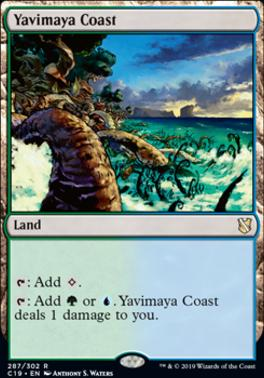 Commander 2019: Yavimaya Coast