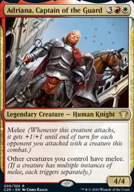 Commander 2020: Adriana, Captain of the Guard
