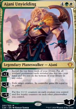 Commander 2020: Ajani Unyielding