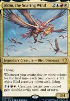 Commander 2020 Foil: Akim, the Soaring Wind