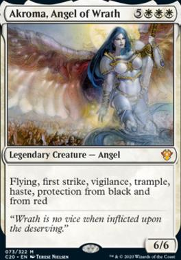 Commander 2020: Akroma, Angel of Wrath