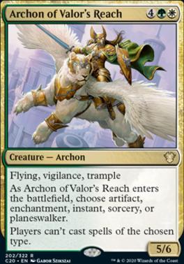 Commander 2020: Archon of Valor's Reach