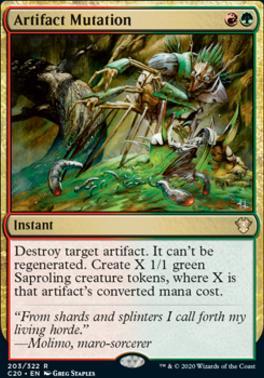 Commander 2020: Artifact Mutation