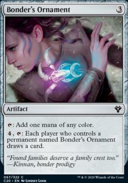 Commander 2020: Bonder's Ornament