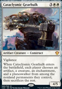 Commander 2020: Cataclysmic Gearhulk