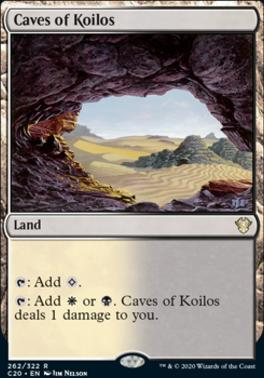 Commander 2020: Caves of Koilos