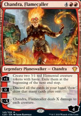 Commander 2020: Chandra, Flamecaller